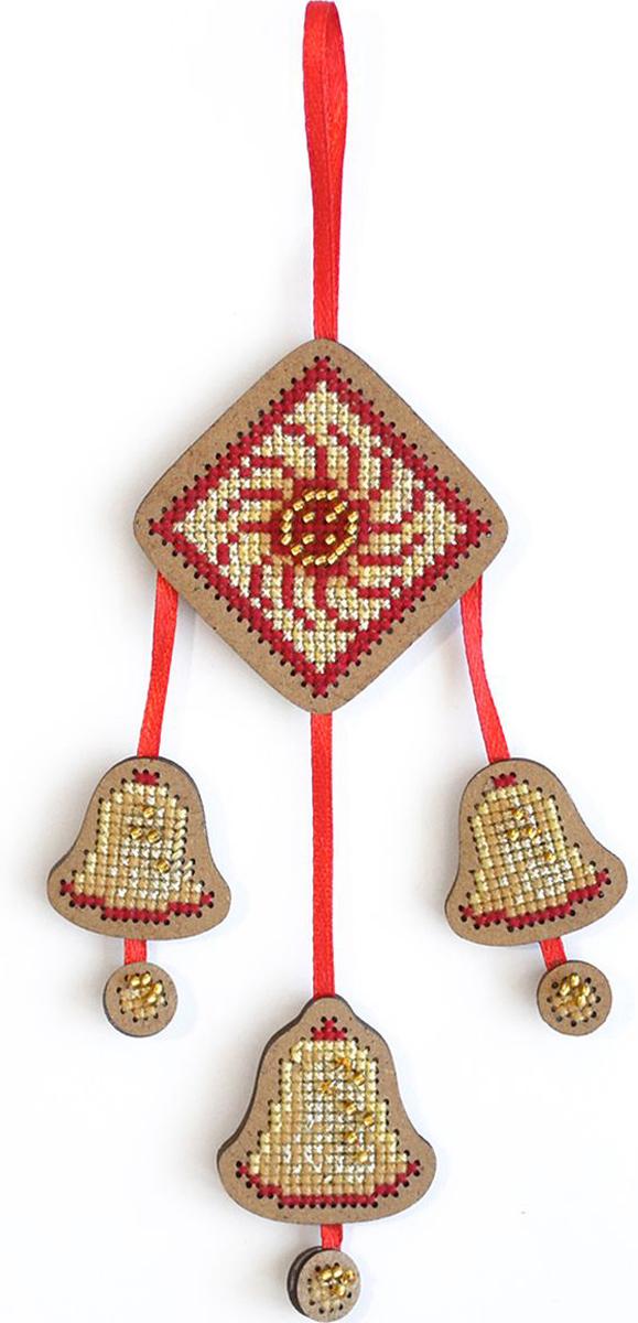Набор для вышивания крестом Созвездие От злых сил. Колокольчики, 12 х 8 см набор для вышивания крестом созвездие добрая дорога подорожница 9 х 4 5 см
