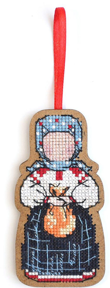 Набор для вышивания крестом Созвездие Добрая дорога. Подорожница, 9 х 4,5 см набор для вышивания крестом созвездие добрая дорога подорожница 9 х 4 5 см