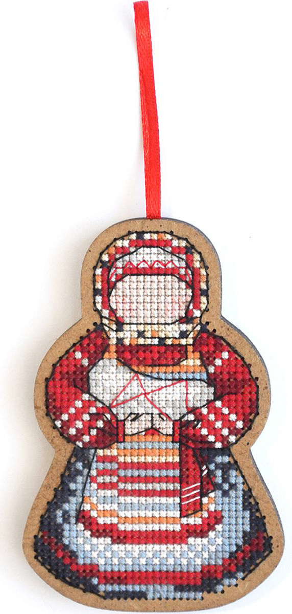 Набор для вышивания крестом Созвездие Мамушка-нянюшка, 9 х 6 см набор для вышивания крестом созвездие добрая дорога подорожница 9 х 4 5 см