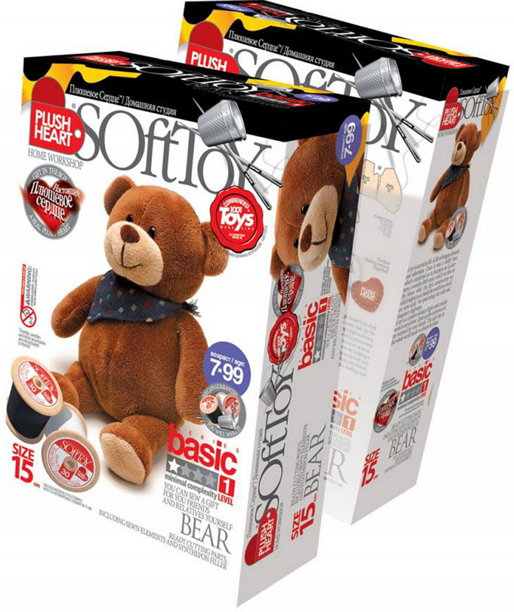 Набор для создания мягкой игрушки Мишка. 457021 мягкие игрушки spiegelburg мишка неваляшка baby gluck