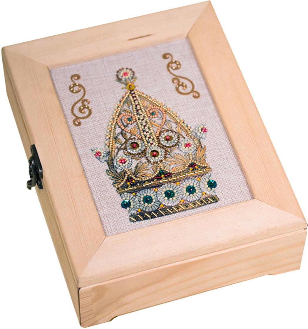 Набор для декорирования шкатулки Матренин Посад Венец изобилия набор для вышивания матренин посад шкатулка с монограммой 22 х 17 х 6 5 см