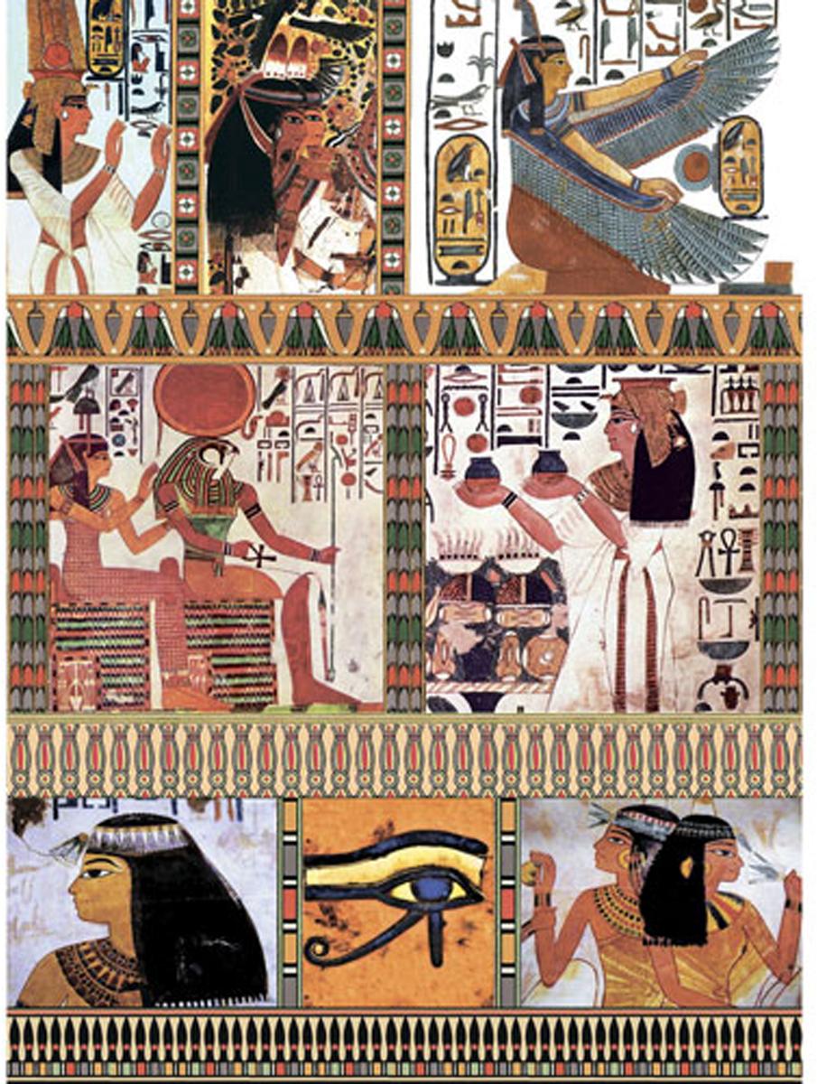 Рисовая бумага для декупажа Craft Premier Египет, 28,2 см х 38,4 см рисовая бумага для декупажа craft premier шебби розы a3
