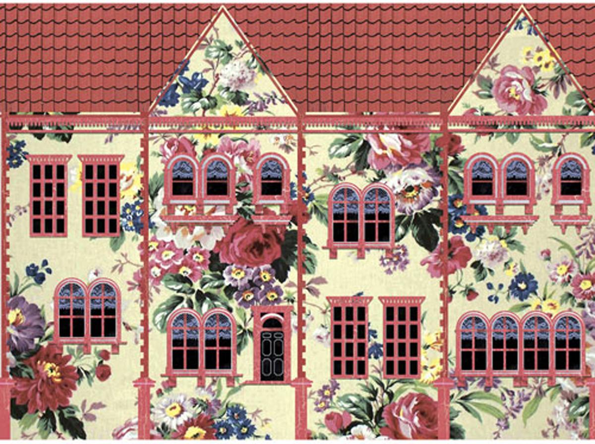 Рисовая бумага для декупажа Craft Premier, A3, 25г/м, Цветочный домик рисовая бумага для декупажа craft premier шебби розы a3
