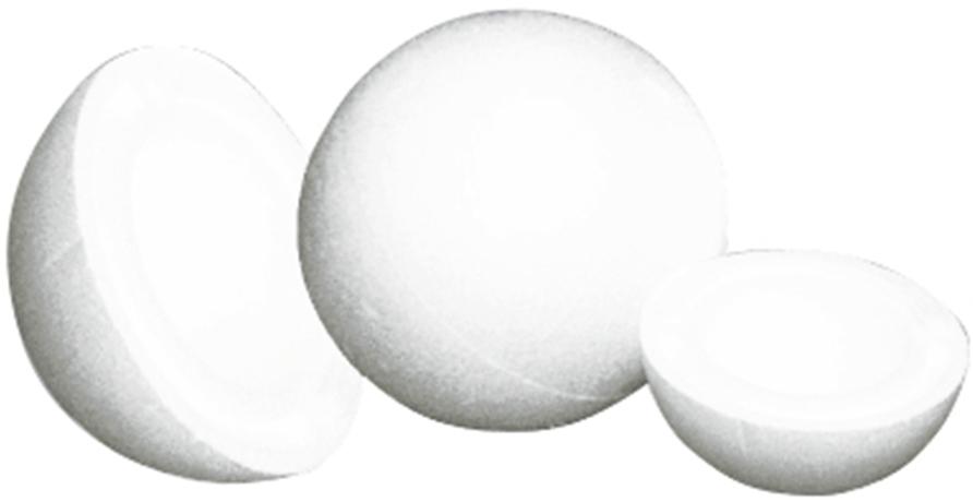 Заготовка пенопластовая для творчества Bovelacci S.R.U Шар, диаметр 15 см idigo заготовка для декорирования из пенопласта корова 15 9см dz1501