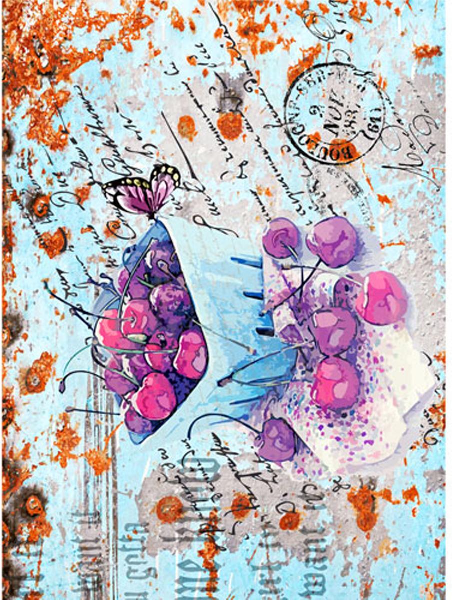 Рисовая бумага для декупажа Craft Premier Вишневое лакомство, 28 см х 38 см рисовая бумага для декупажа craft premier шебби розы a3