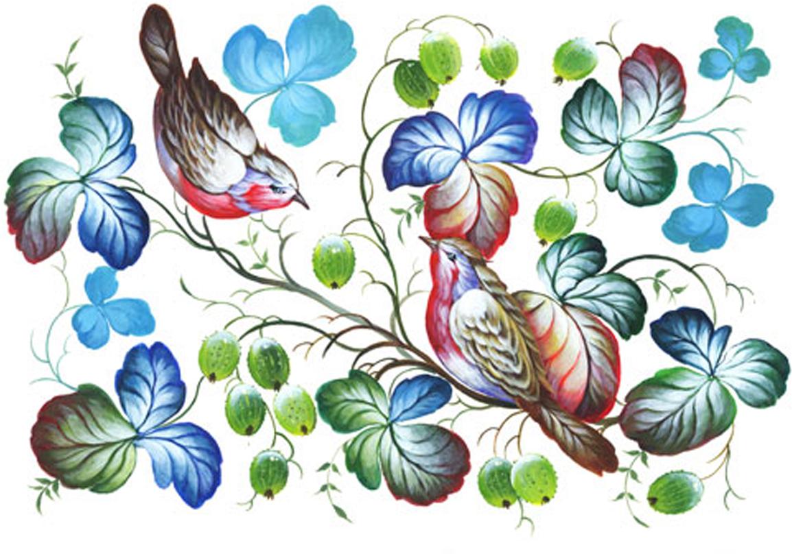 Рисовая бумага для декупажа Craft Premier Нежные птички, 28 х 38 см рисовая бумага для декупажа craft premier шебби розы a3
