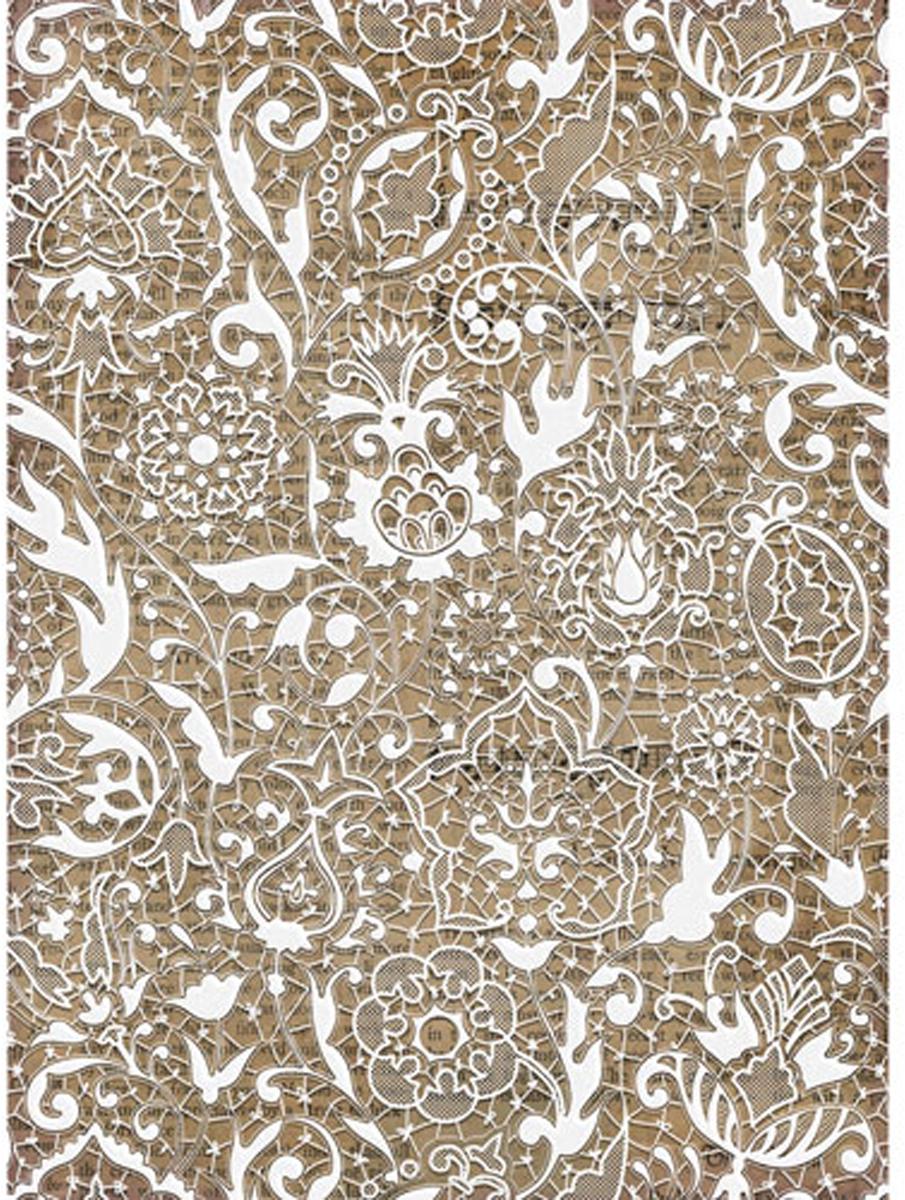 Рисовая бумага для декупажа Craft Premier Белое кружево, 28 см х 38 см рисовая бумага для декупажа craft premier шебби розы a3