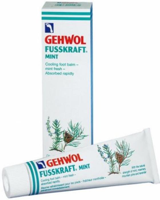 Gehwol Fusskraft Mint - Мятный охлаждающий бальзам для ног 125 мл