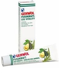 Gehwol Fusskraft Leg Vitality - Оживляющий бальзам для ног 125 мл gehwol fusskraft leg vitality оживляющий бальзам 125 мл