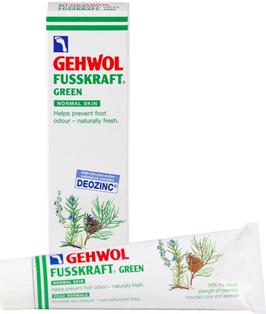 Gehwol Fusskraft Green - Зеленый бальзам для ног 125 мл