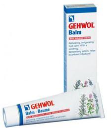 Gehwol Balm Dry Rough Skin - Тонизирующий бальзам для сухой кожи ног 75 мл