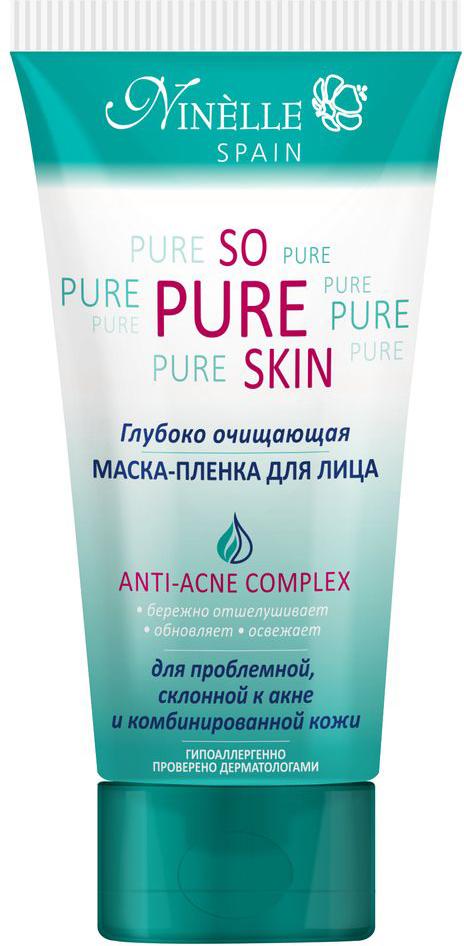 Ninelle So Pure Skin Глубоко очищающая маска-пленка для лица, 75 мл маска для лица ninelle ninelle ni025lwuwx28