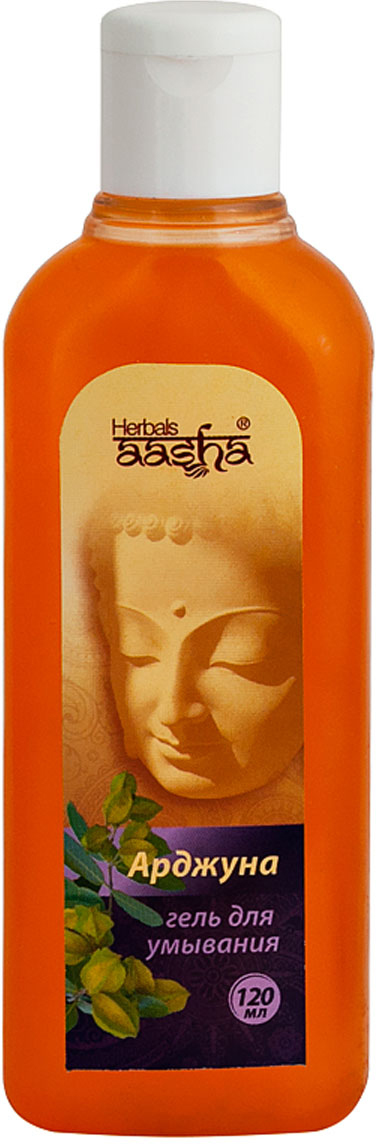 Гель для умывания Арджуна, 120 мл Aasha Herbals