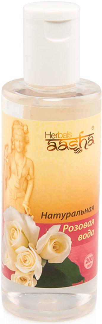 Aasha Herbals Натуральная Розовая вода, 200 мл