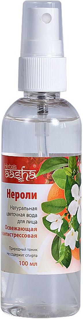 Aasha Herbals Цветочная вода для лица Нероли, 100 мл недорго, оригинальная цена