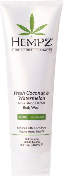 Hempz Гель для душа Кокос и Арбуз Fresh Coconut and Watermelon Herbal Body Wash 250 мл hempz fresh coconut
