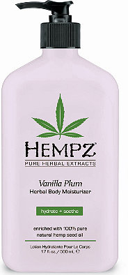 Hempz Молочко для тела увлажняющее слива и ваниль Vanilla Plum Herbal Body Moisturizer 500 мл