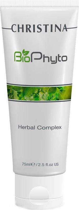 Christina Био-фито-пилинг облегченный для домашнего использования Bio Phyto Herbal Complex 75 мл christina био фито пилинг 150 мл