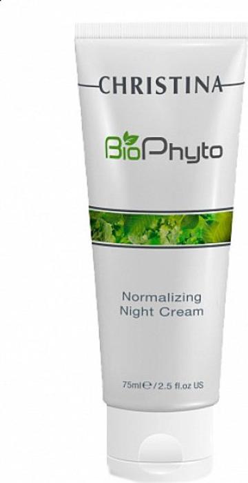ChristinaНормализующий ночной крем Bio Phyto Normalizing Night Cream 75 мл Christina