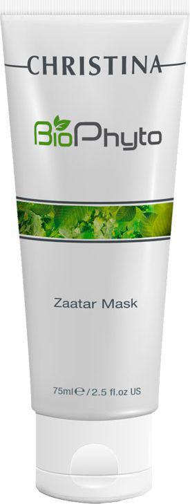 Christina Био-фито успокаивающая маска Заатар для всех типов кожи Bio Phyto Soothing Zaatar Mask 75 мл thalgo био успокаивающая маска мгновенного действия 50 мл