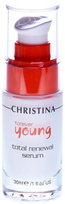 Christina Омолаживающая сыворотка Тотал Forever Young Total Renewal Serum 30 мл christina forever young total renewal serum омолаживающая сыворотка тоталь кристина шаг 7 100 мл