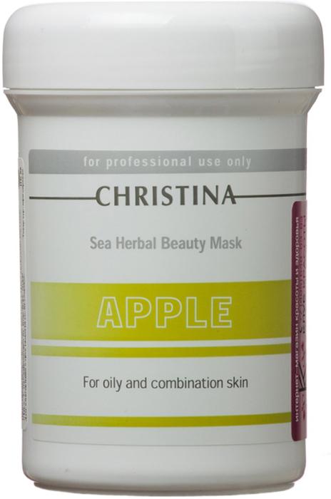 Christina Яблочная маска красоты для жирной и комбинированной кожи Sea Herbal Beauty Mask Green Apple 250 мл