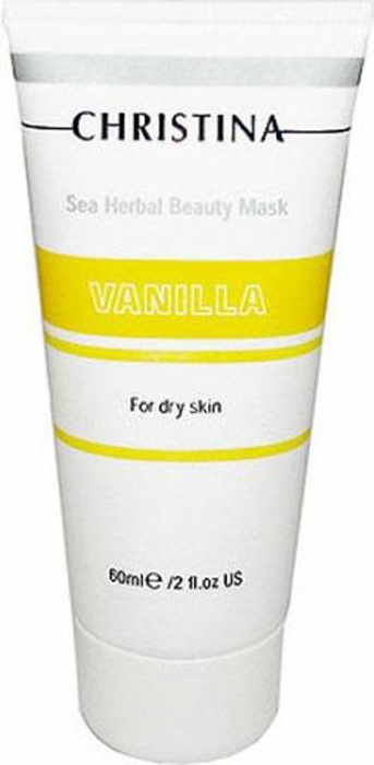 Christina Ванильная маска красоты для сухой кожи Sea Herbal Beauty Mask Vanilla 60 мл christina ванильная маска красоты для сухой кожи sea herbal beauty mask vanilla 60 мл