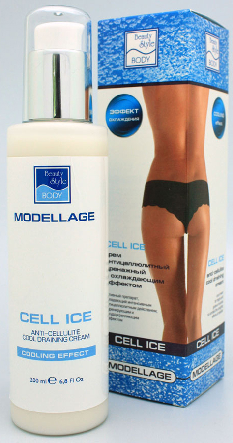 Beauty Style Антицеллюлитный крем CELL ICE Modellage