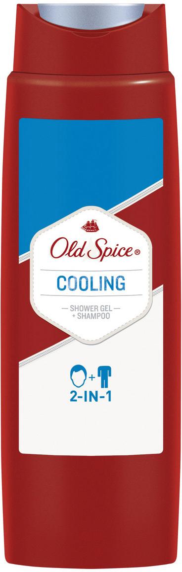 Гель для душа + Шампунь Old Spice 2в1 Cooling, 250 мл