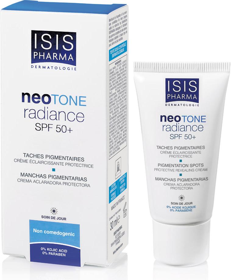 Isispharma Дневной крем NEOTONE Radiance SPF 50+ 30 мл