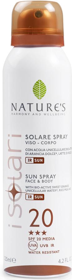 Nature's Sun Солнцезащитный спрей SPF 20, 150 мл