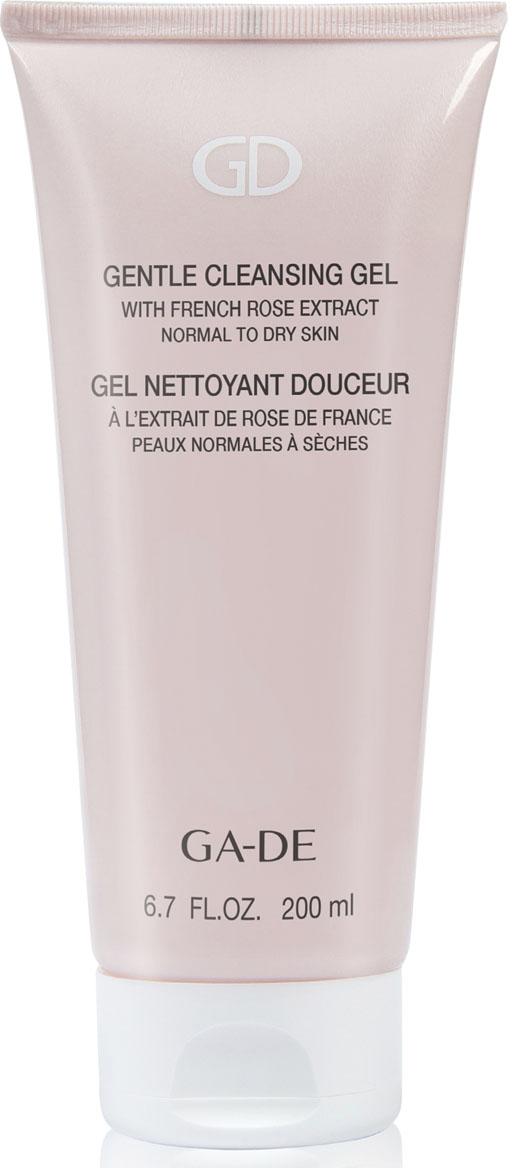 GA-DEГель для умывания Gentle Cleansing Gel (для сухой и нормальной кожи), 200 мл GA-DE