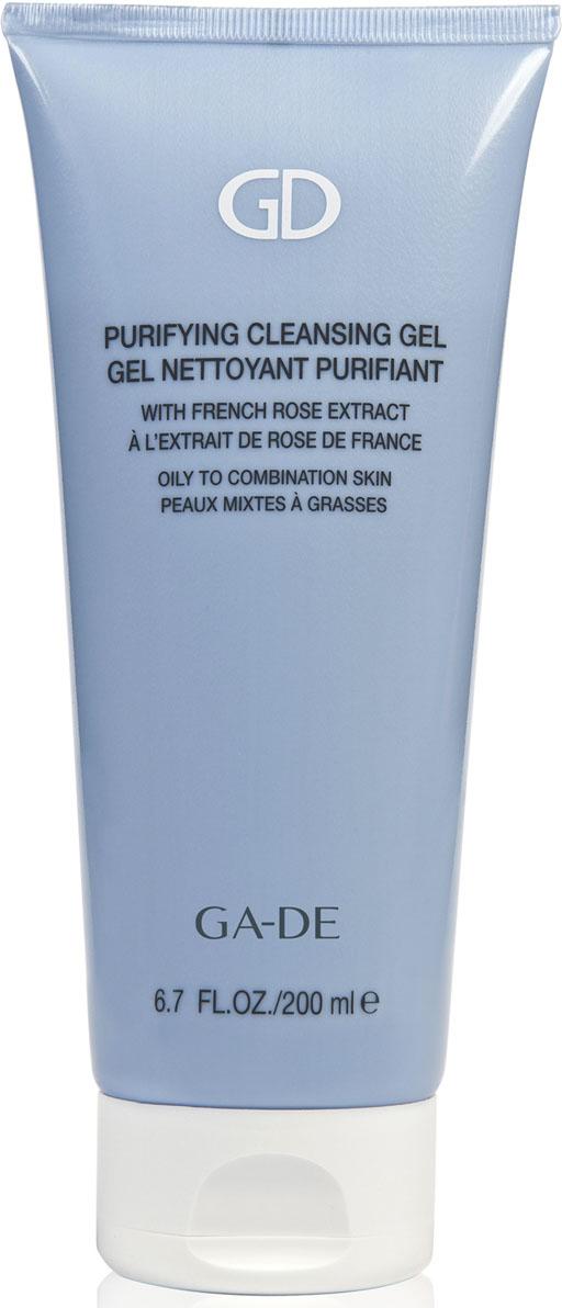 GA-DEГель для умывания Purifying Cleansing Gel(для жирной и комбинированной кожи), 200 мл GA-DE