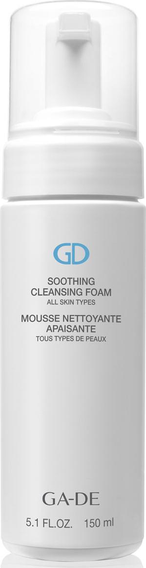 GA-DE Очищающая и успокаивающая пенка Soothing Cleansing Foam (для всех типов кожи ), 150 мл 3lab очищающая пенка для лица для всех типов кожи perfect cleansing foam 125 мл