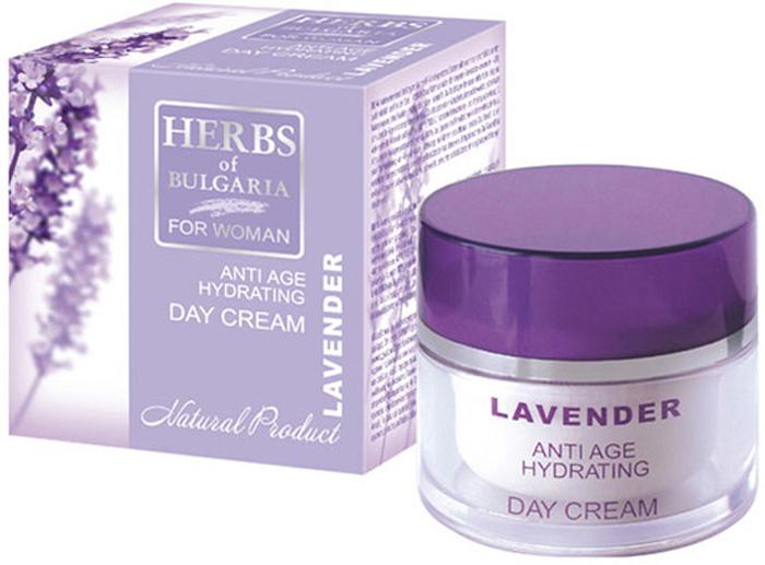 Herbs of Bulgaria LavenderОмолаживающий увлажняющий дневной крем для лица, 50 мл Herbs of Bulgaria Lavender