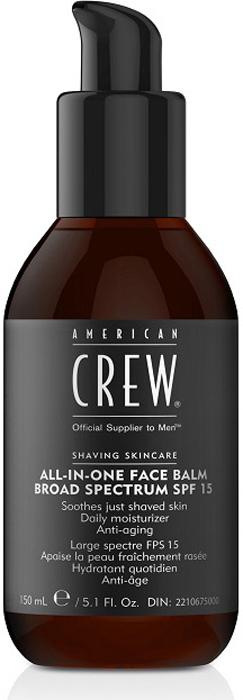 American CrewУвлажняющий бальзам для лица All in One Face Balm SPF 15, 170 мл American Crew