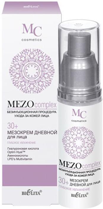 Белита Мезокрем дневной для лица 30+ Глубокое Увлажнение MEZOcomplex, 50 мл Белита