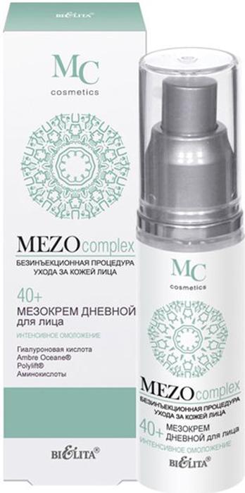 Белита Мезокрем дневной для лица 40+ Интенсивное омоложение MEZOcomplex, 50 мл Белита