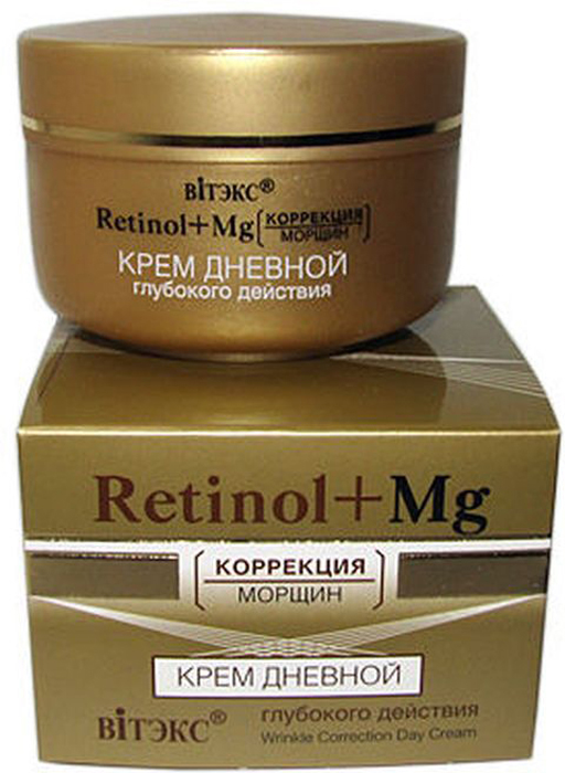 Витэкс Retinol+MG коррекция морщин Крем дневной глубокого действия, 45 мл