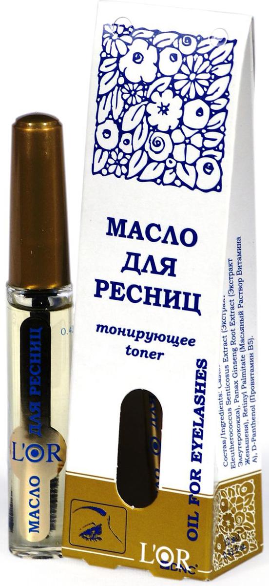 DNC Масло косметическое для ресниц и бровей L'OR, тонирующее, 12 мл dnc твердое масло для кончиков волос 15 мл