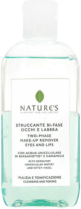 Nature's Двухфазное средство для снятия макияжа для глаз и губ, 125 мл