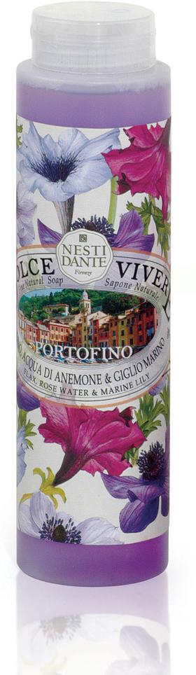 Nesti Dante Гель для душа Portofino, 300 мл свеча portofino 160г nesti dante