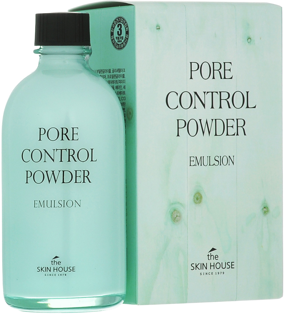 The Skin House Эмульсия Pore control powder, 130 мл эмульсия pore control 130 мл the skin house эмульсия pore control 130 мл