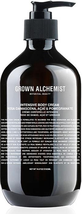 "Grown Alchemist Интенсивно увлажняющий крем для тела ""Дамасская роза, асаи и гранат"", 500 мл"