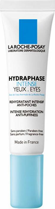 La Roche-Posay Увлажняющий крем-гель для контура глаз Hydraphase Интенс против «мешков» под глазами 15 мл hydraphase la roche