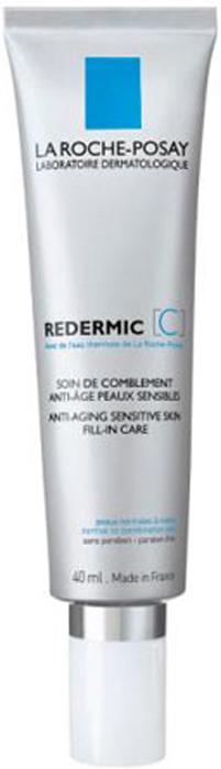 La Roche-Posay Интенсивный уход для нормальной комбинированной чувствительность кожи лица Redermic 35-55 лет [C], 40мл redermic c