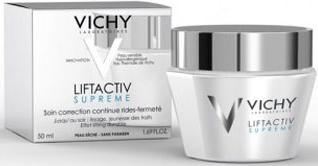 Vichy Крем для упругости сухой и очень сухой кожи Liftactiv Супрем, 50 мл vichy liftactiv supreme крем против морщин и для упругости сухой и очень сухой кожи 50 мл