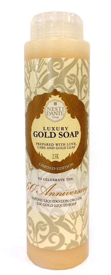 Nesti Dante Гель для душа Anniversary Gold Soap-Юбилейный золотой 300 мл nesti dante мыло marsiglia toscano мучо бьянко 200 г