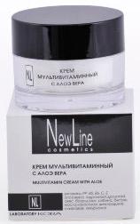 New LineКрем мультивитаминный с алоэ вера, 50мл New Line
