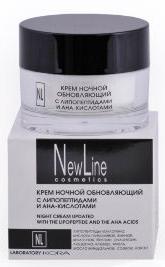 New LineКрем ночной обновляющий с липопетидами и АНА кислотами,50мл New Line
